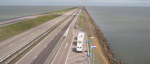 Image courtesy of http://en.wikipedia.org/wiki/File:Afsluitdijk2006-1.JPG