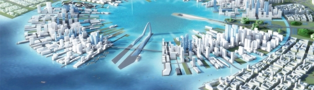 Masterplan for Shenzen, China