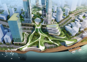 Vision for Shanghai's Waterfront, China